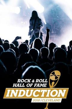poster for 2018 Rock and Roll Hall of Fame Induction Ceremony