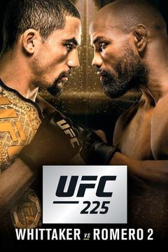 poster for UFC 225: Whittaker vs. Romero 2