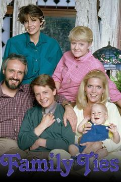 poster for Family Ties