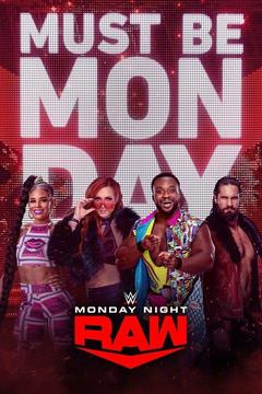 poster for WWE Monday Night RAW