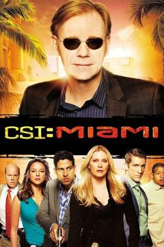 poster for CSI: Miami