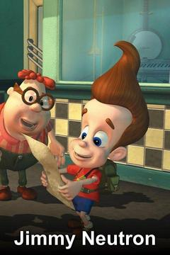 poster for The Adventures of Jimmy Neutron: Boy Genius