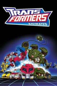 poster for Transformers Animated