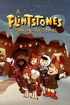 poster for A Flintstone Family Christmas