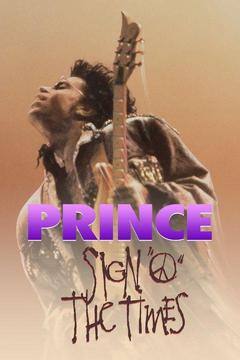 poster for Prince: Sign O' the Times