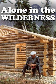 poster for Alone in the Wilderness