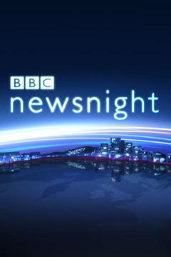 poster for BBC Newsnight