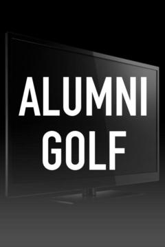 poster for Alumni Golf