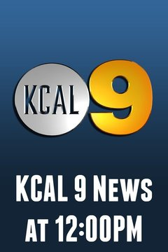 poster for KCAL 9 News at 12:00PM
