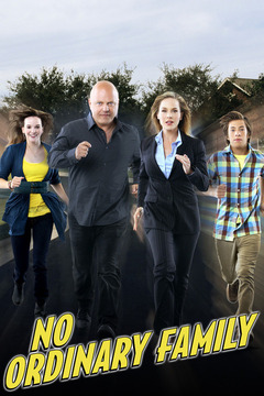 poster for No Ordinary Family