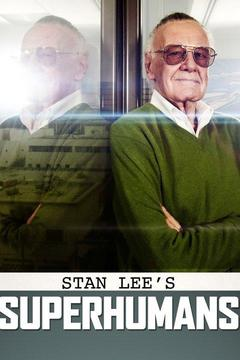poster for Stan Lee's Superhumans