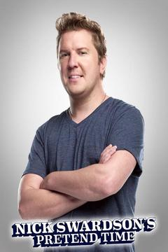 poster for Nick Swardson's Pretend Time