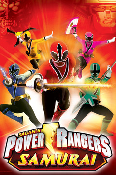 poster for Power Rangers Samurai