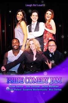 poster for Pride Comedy Jam