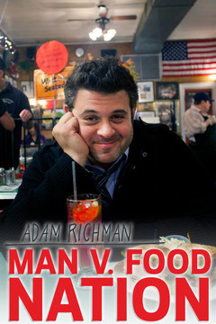 poster for Man v. Food