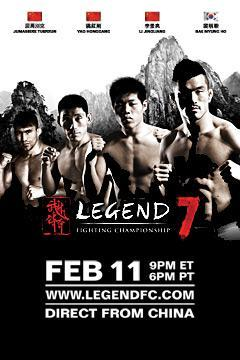 poster for Legend Fighting Championship 7
