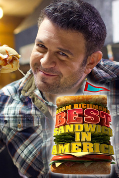 poster for Adam Richman's Best Sandwich in America