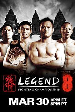 poster for Legend Fighting Championship 8
