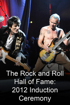 poster for 2012 Rock and Roll Hall of Fame Induction Ceremony
