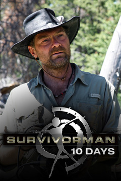 poster for Survivorman Ten Days