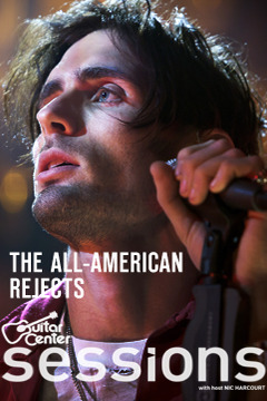 poster for Guitar Center Sessions All American Rejects