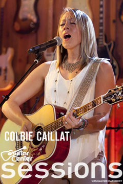poster for Guitar Center Sessions Colbie Caillat
