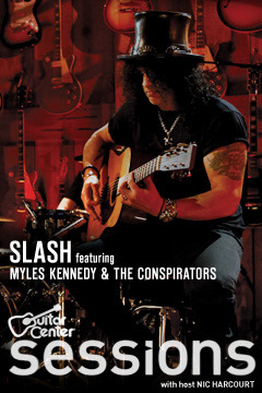 poster for Guitar Center Sessions Slash