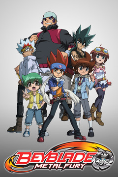poster for Beyblade: Metal Fury