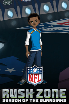 poster for NFL Rush Zone: Season of the Guardians