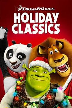 poster for DreamWorks Holiday Classics
