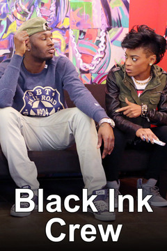 poster for Black Ink Crew