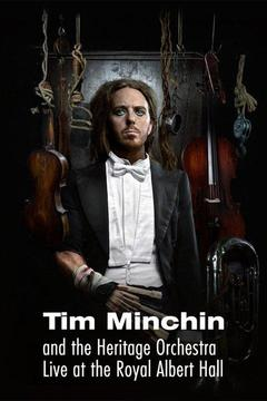 poster for Tim Minchin and the Heritage Orchestra Live at the Royal Albert Hall