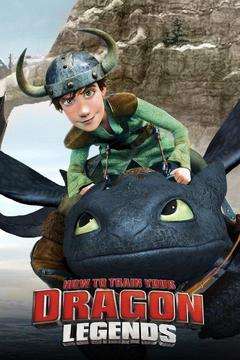 poster for How to Train Your Dragon Legends