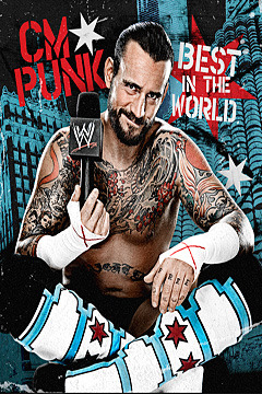 poster for CM Punk - Best in the World