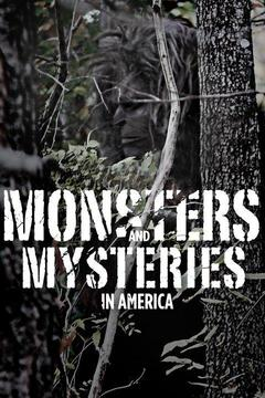 poster for Monsters and Mysteries in America