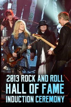 poster for 2013 Rock and Roll Hall of Fame Induction Ceremony