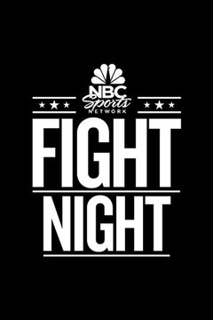 poster for NBCSN Fight Night