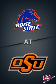 poster for Boise State @ Oklahoma State