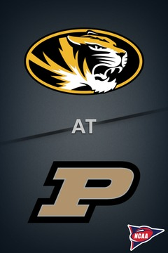 poster for Missouri @ Purdue