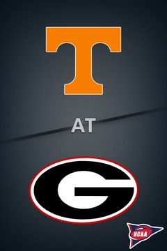 poster for Tennessee @ Georgia