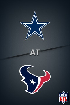 poster for Cowboys @ Texans