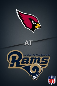 poster for Cardinals @ Los Angeles Rams