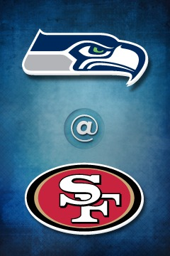 poster for Seahawks @ 49ers