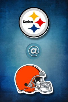 poster for Steelers @ Browns