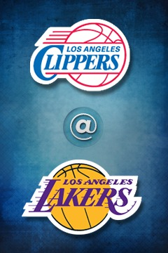 poster for Clippers @ Lakers