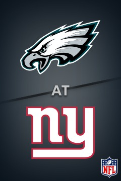 poster for Eagles @ Giants