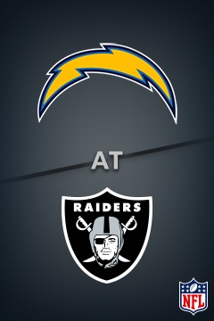Chargers @ Raiders