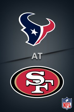 poster for Texans @ 49ers