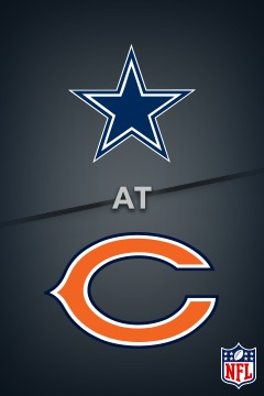 poster for Cowboys @ Bears