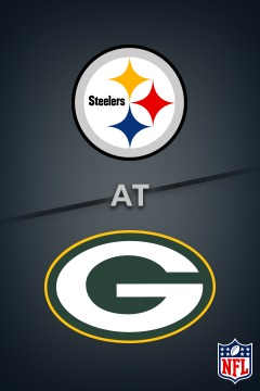 poster for Steelers @ Packers